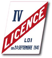 création licence 4