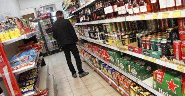 Alcool vente la nuit en epicerie