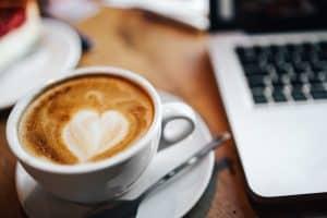 café et sa marge