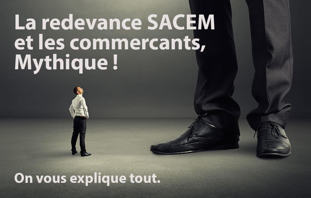 la redevance SACEM et les commerçants