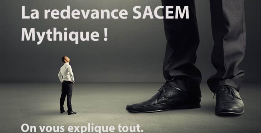 La redevance SACEM