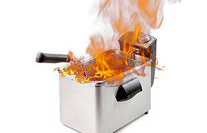 sécurité friteuse